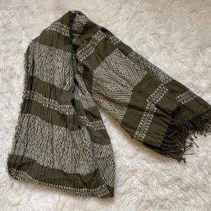 Madewell Scarf - Forest Green